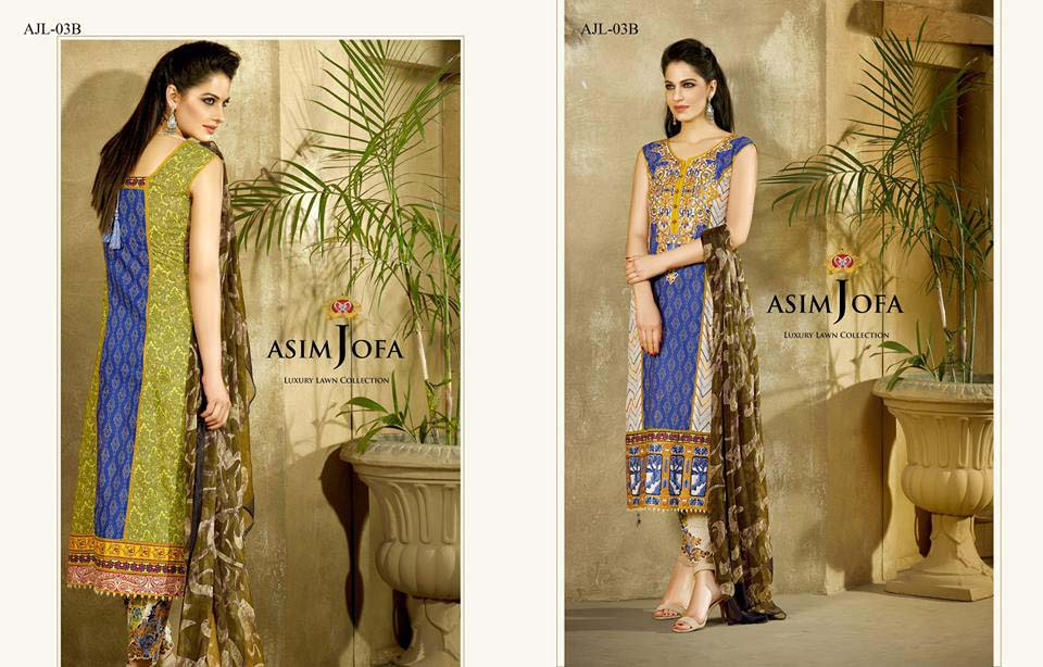 Asim Jofa Luxury Eid Lawn Collection 2016 for Women (11)