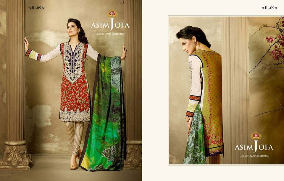 Asim Jofa Luxury Eid Lawn Collection 2016 for Women (19)