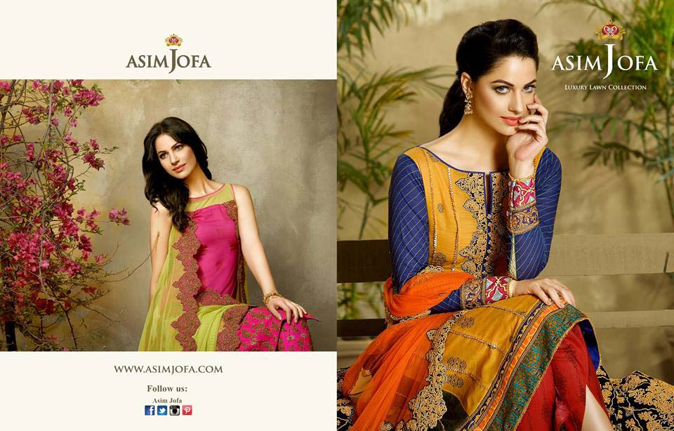 Asim Jofa Luxury Eid Lawn Collection 2016 for Women (2)