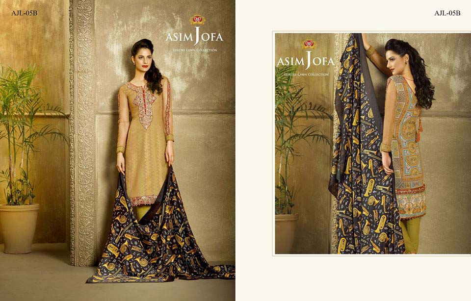 Asim Jofa Luxury Eid Lawn Collection 2016 for Women (21)