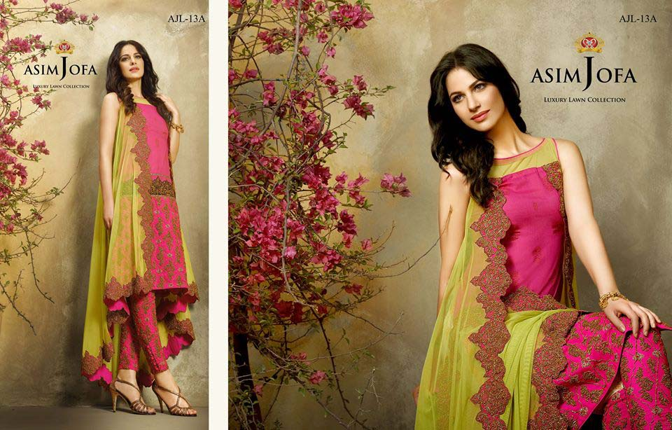 Asim Jofa Luxury Eid Lawn Collection 2016 for Women (24)