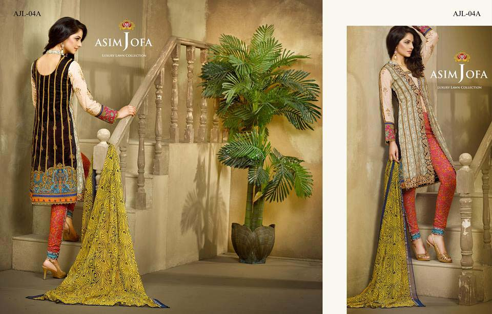 Asim Jofa Luxury Eid Lawn Collection 2016 for Women (29)