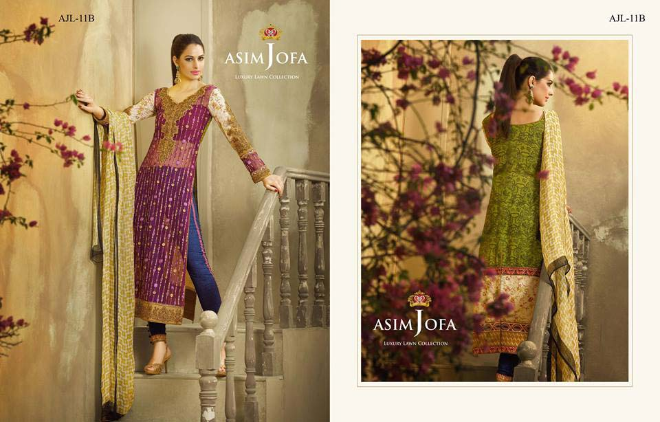 Asim Jofa Luxury Eid Lawn Collection 2016 for Women (3)