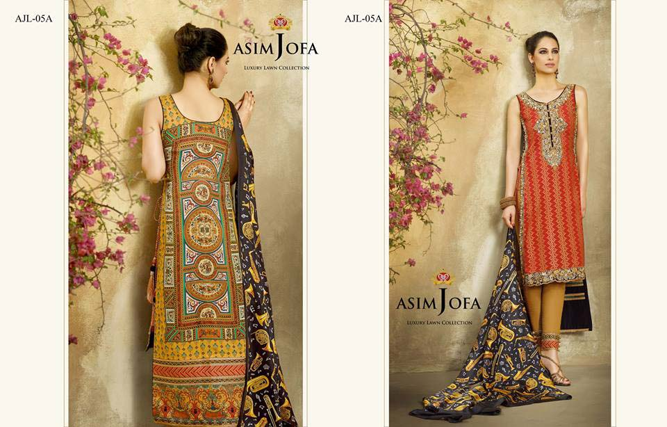 Asim Jofa Luxury Eid Lawn Collection 2016 for Women (35)