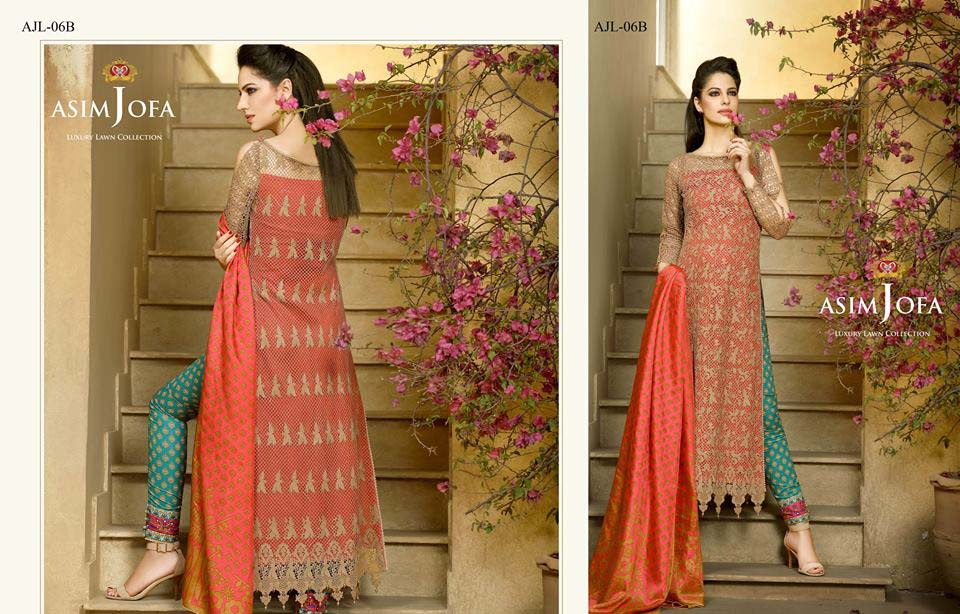 Asim Jofa Luxury Eid Lawn Collection 2016 for Women (5)
