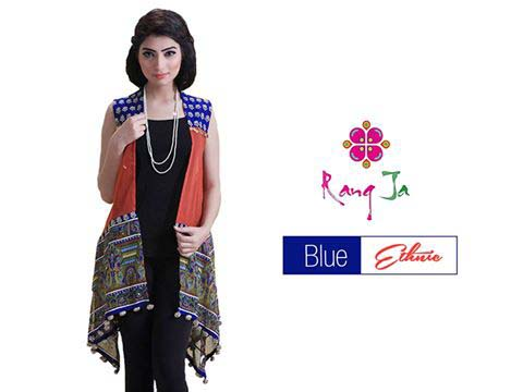 Rang ja Blue Ethnic Collection