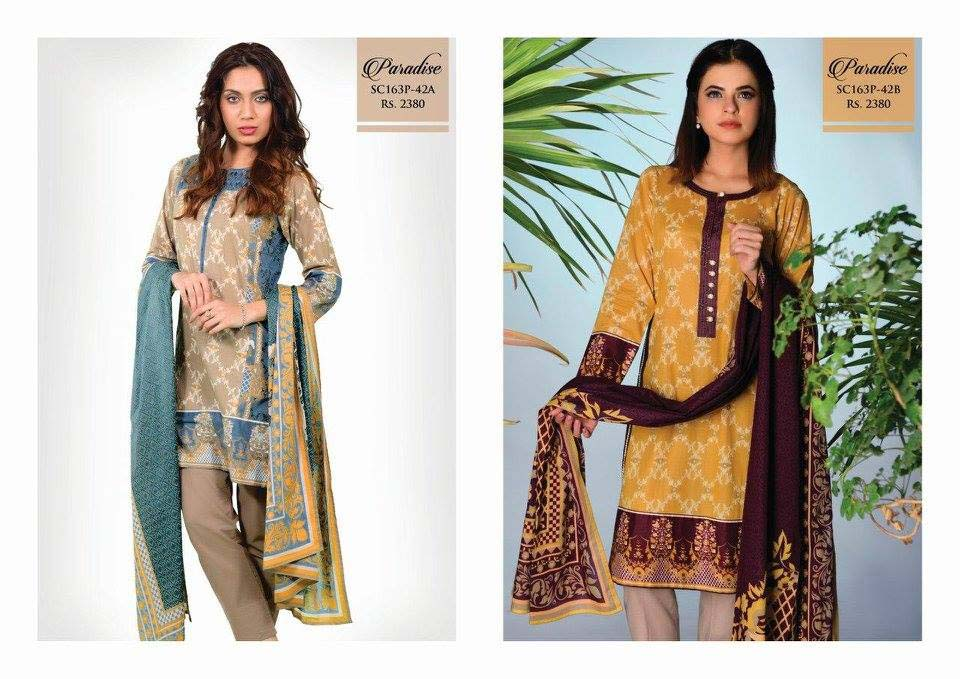 Bonanza Satrangi Lawn Eid Dresses Collection 2016 (2)