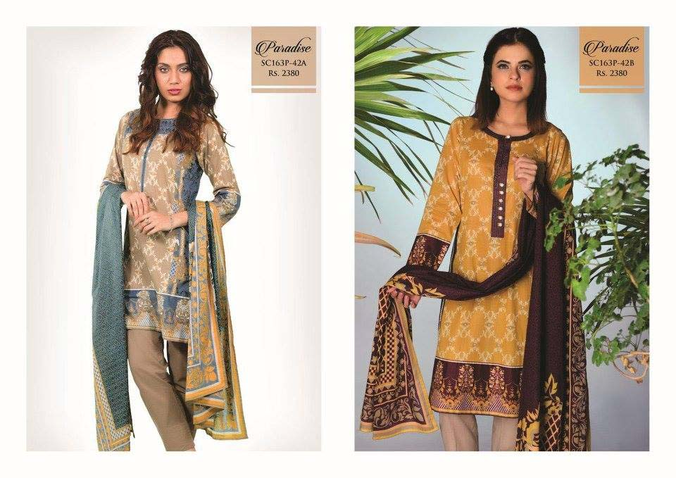 Bonanza Satrangi Lawn Eid Dresses Collection 2016 (4)