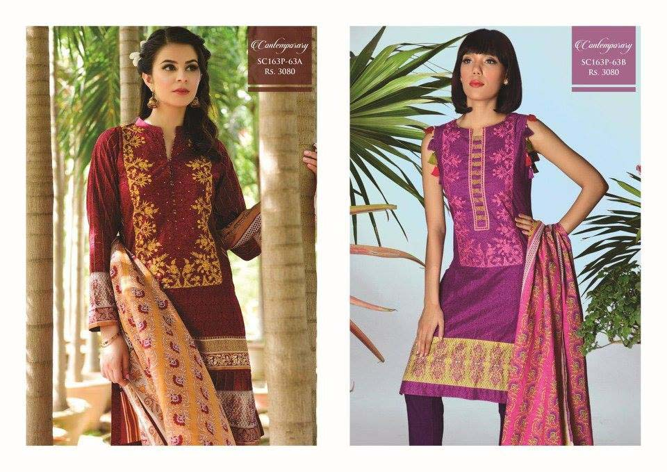Bonanza Satrangi Lawn Eid Dresses Collection 2016 (5)
