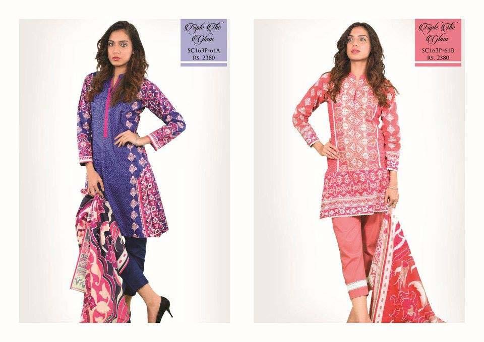 Bonanza Satrangi Lawn Eid Dresses Collection 2016 (6)