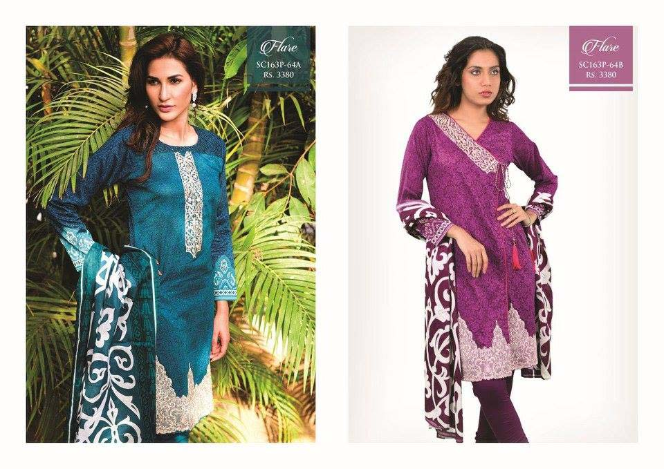 Bonanza Satrangi Lawn Eid Dresses Collection 2016 (7)