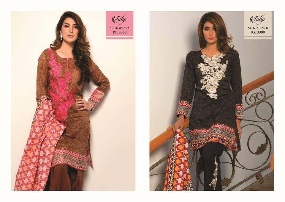 Bonanza Satrangi Lawn Eid Dresses Collection 2016 (8)