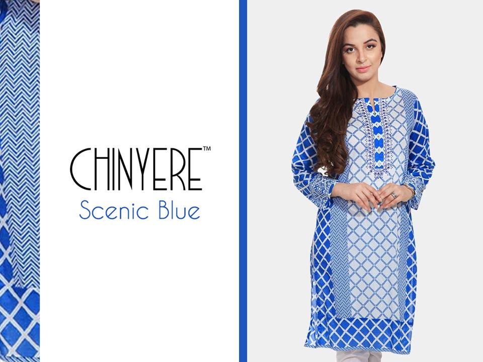Chinyere Party Wear Dresses Design with Accessories 2016-2017 (12)