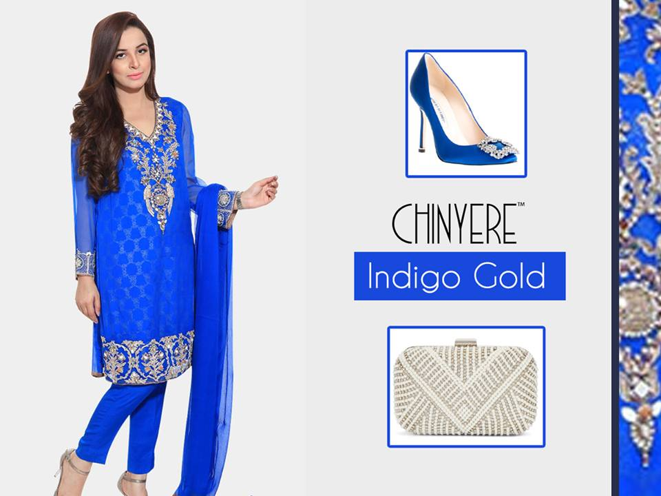 Chinyere Party Wear Dresses Design with Accessories 2016-2017 (18)