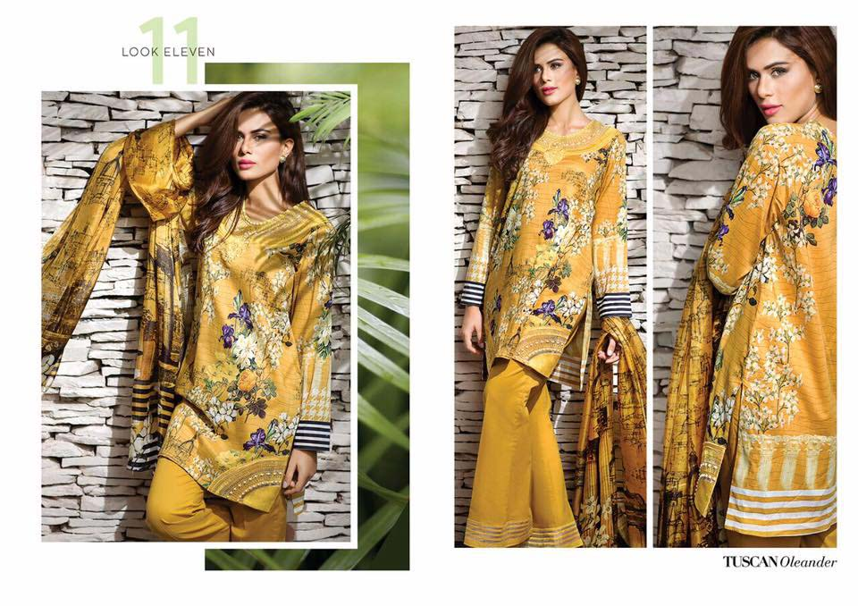 Cross Stitch Summer Eid Dresses Collection for Women 2016
