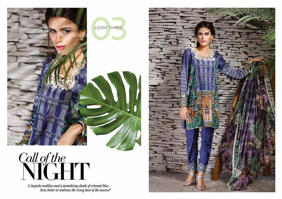 Cross Stitch Summer Eid Dresses Collection for Women 2016 (29)
