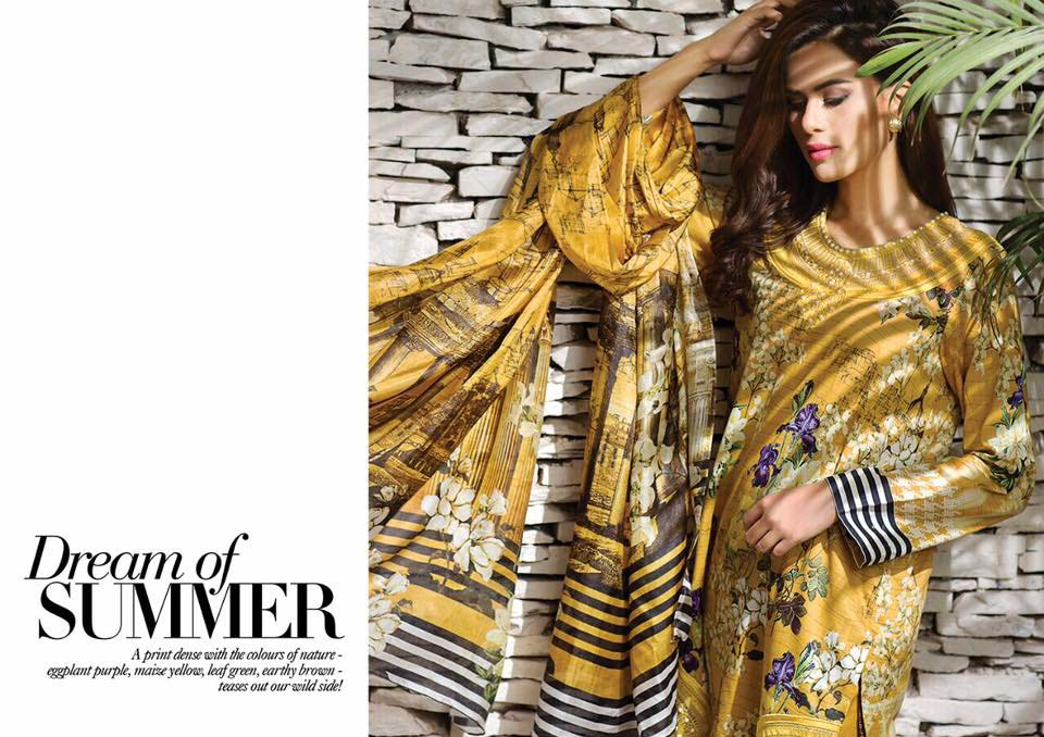 Cross Stitch Summer Eid Dresses Collection for Women 2016 (30)