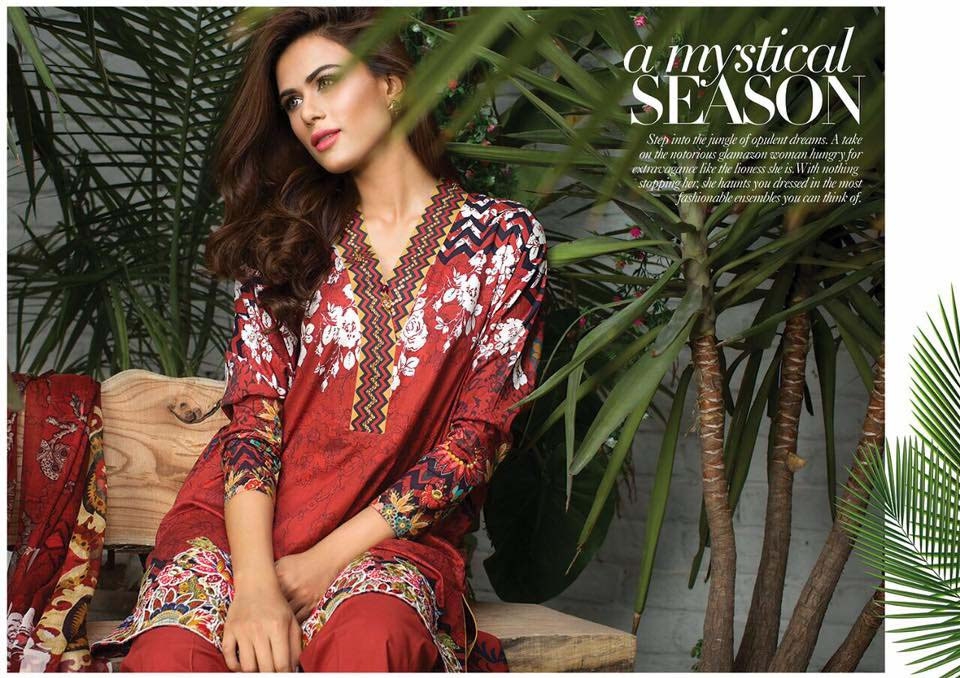 Cross Stitch Summer Eid Dresses Collection for Women 2016 (34)