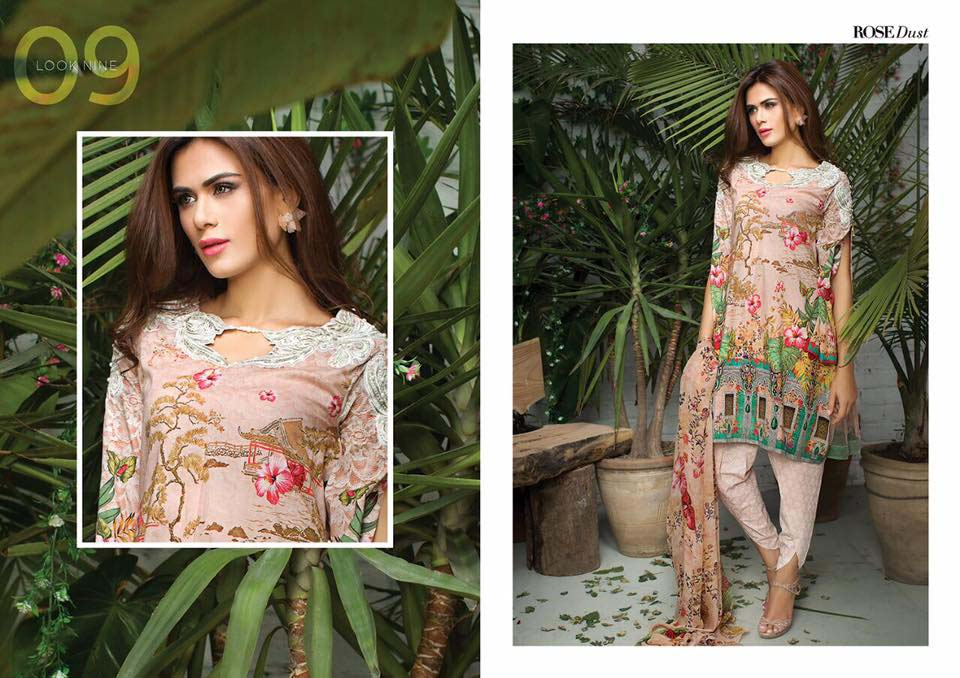 Cross Stitch Summer Eid Dresses Collection for Women 2016 (35)