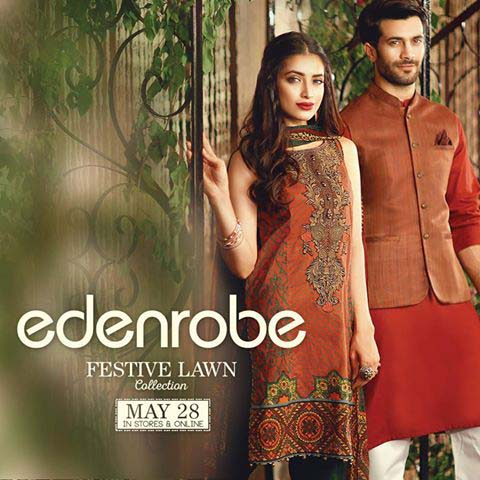 eden robe latest eid wear dresses 2016