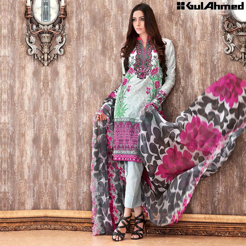 De La Chanilty dresses By Gul Ahmed