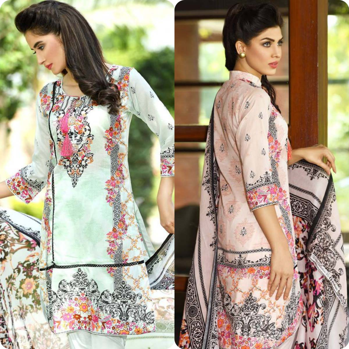 Firdous Lawn Latest Collection