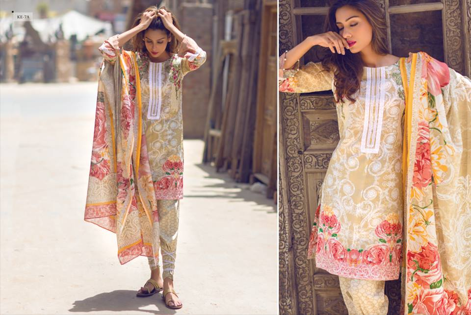 Firdous Korean Lawn Festive Eid Dresse Collection 2016-2017 look Book (12)