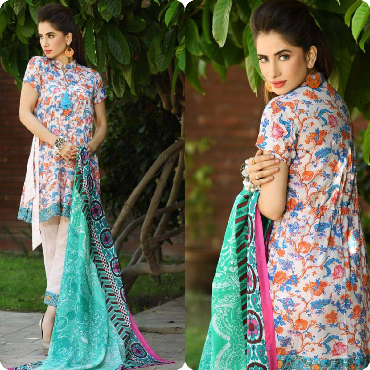 Firdous Korean Lawn Festive Eid Dresse Collection 2016-2017 look Book (14)