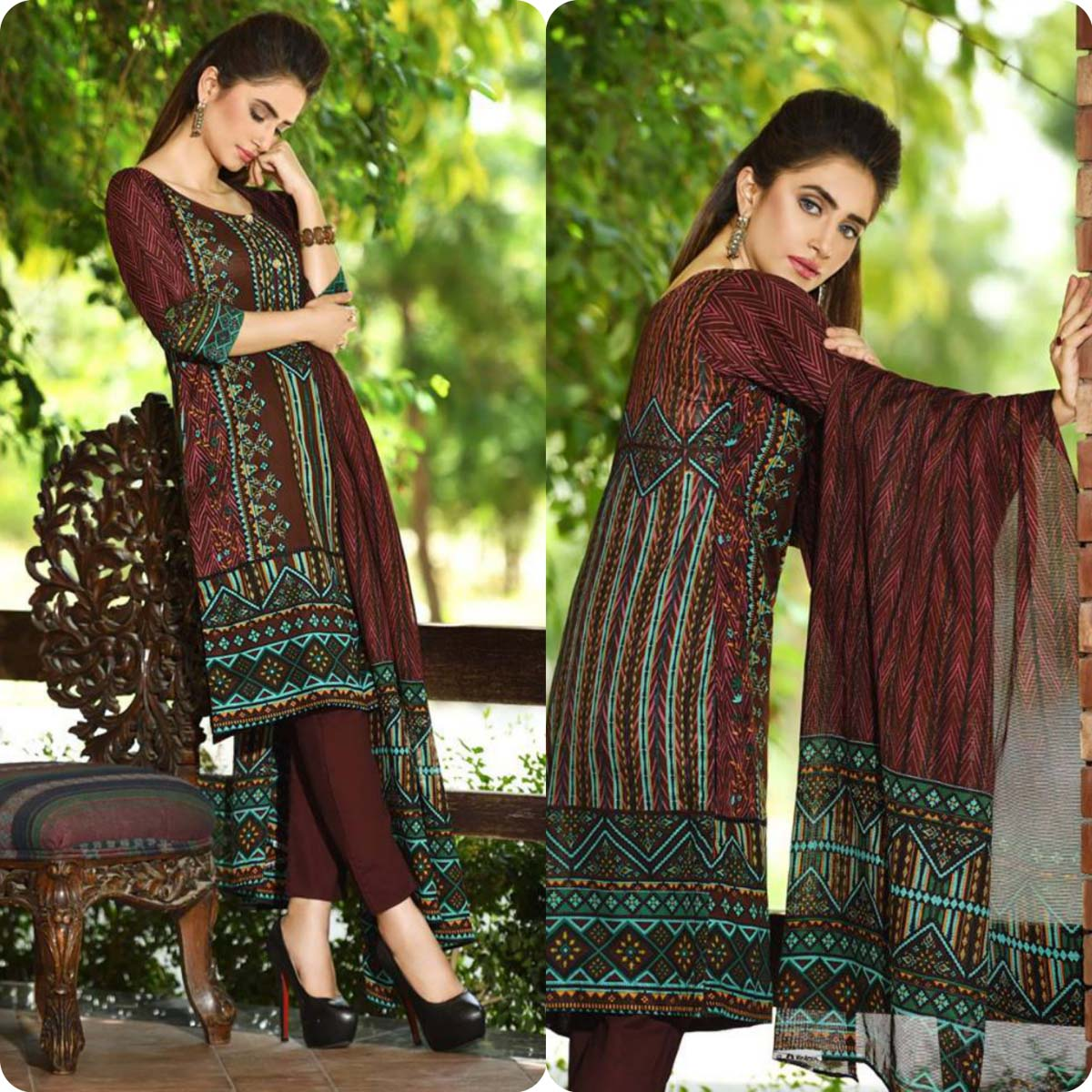 Firdous Korean Lawn Festive Eid Dresse Collection 2016-2017 look Book (15)