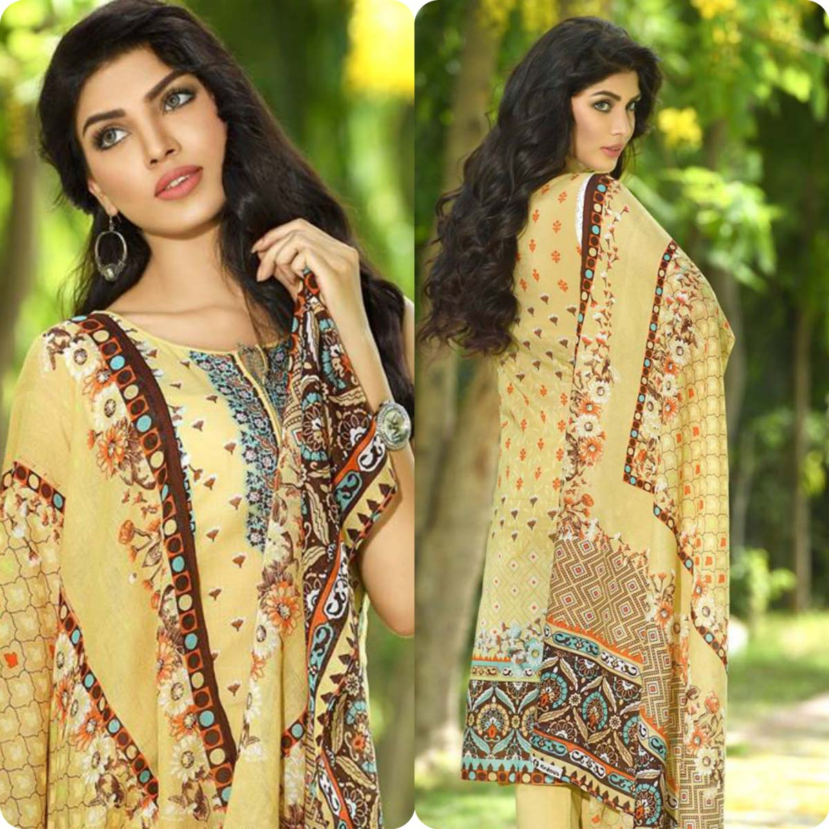 Firdous Korean Lawn Festive Eid Dresse Collection 2016-2017 look Book (19)