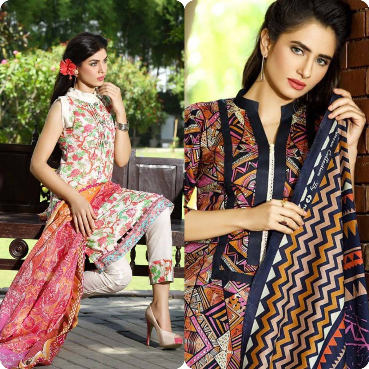 Firdous Korean Lawn Festive Eid Dresse Collection 2016-2017 look Book (4)