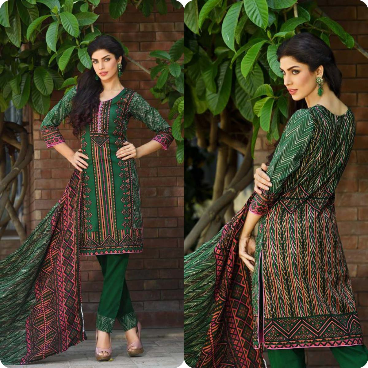 Firdous Korean Lawn Festive Eid Dresse Collection 2016-2017 look Book (6)