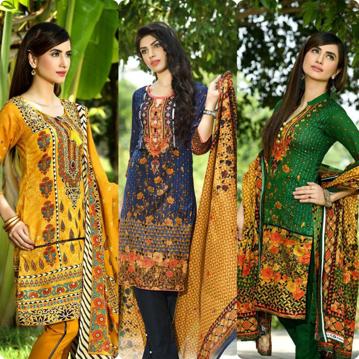 Firdous Korean Lawn Festive Eid Dresse Collection 2016-2017 look Book (8)