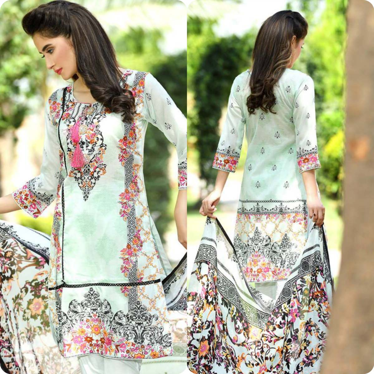 Firdous Korean Lawn Festive Eid Dresse Collection 2016-2017 look Book (9)