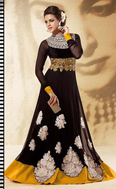 Party Wear Anarkali frocks collection