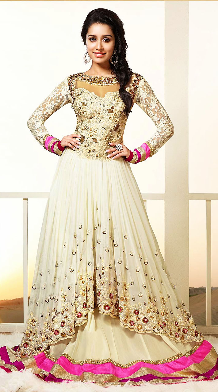 Fllor length Anarkali Frocks and suits