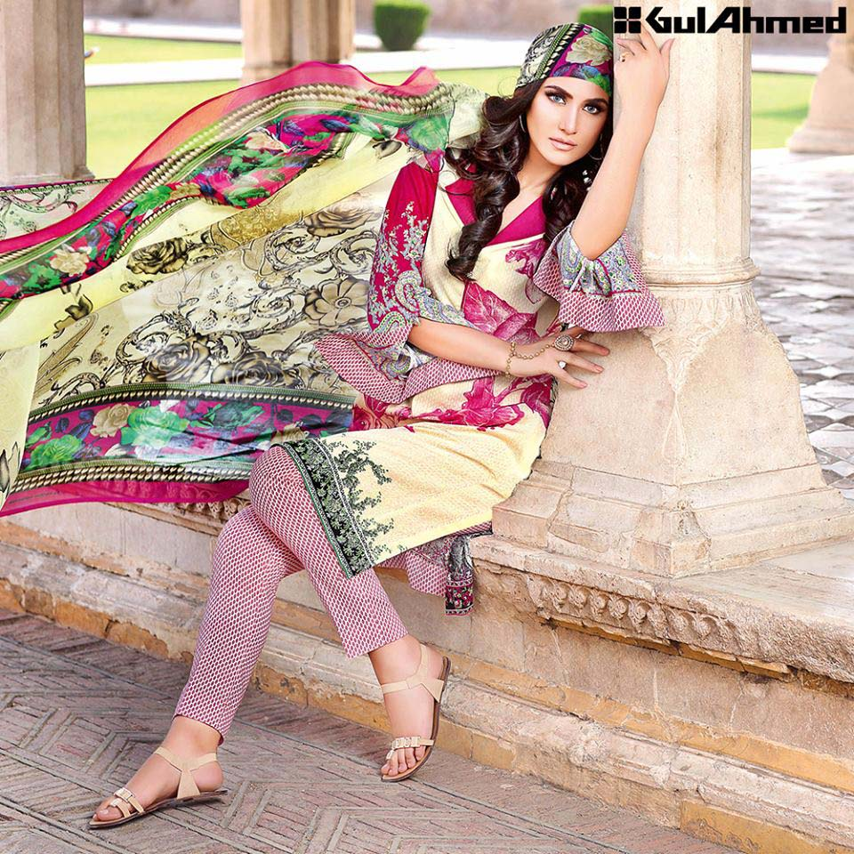 Gul Ahmed eid dresses