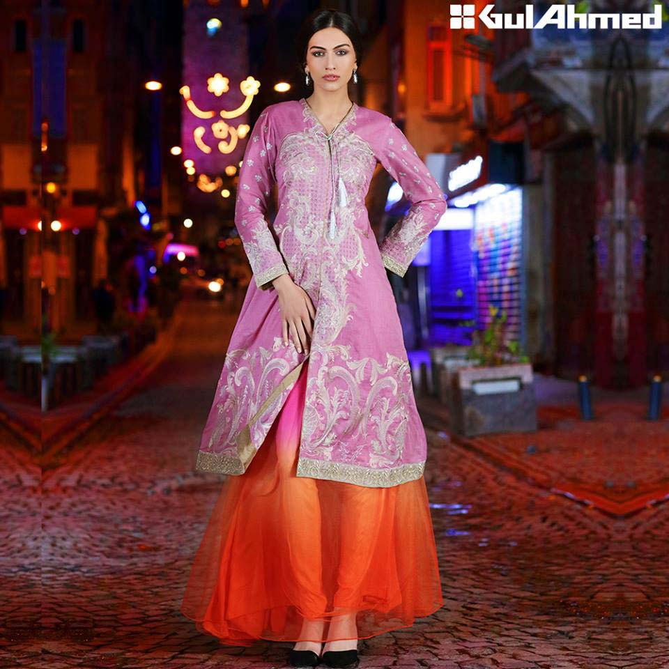 Gul Ahmed Festive Eid 2016 Embroidered Singles Collection (11)