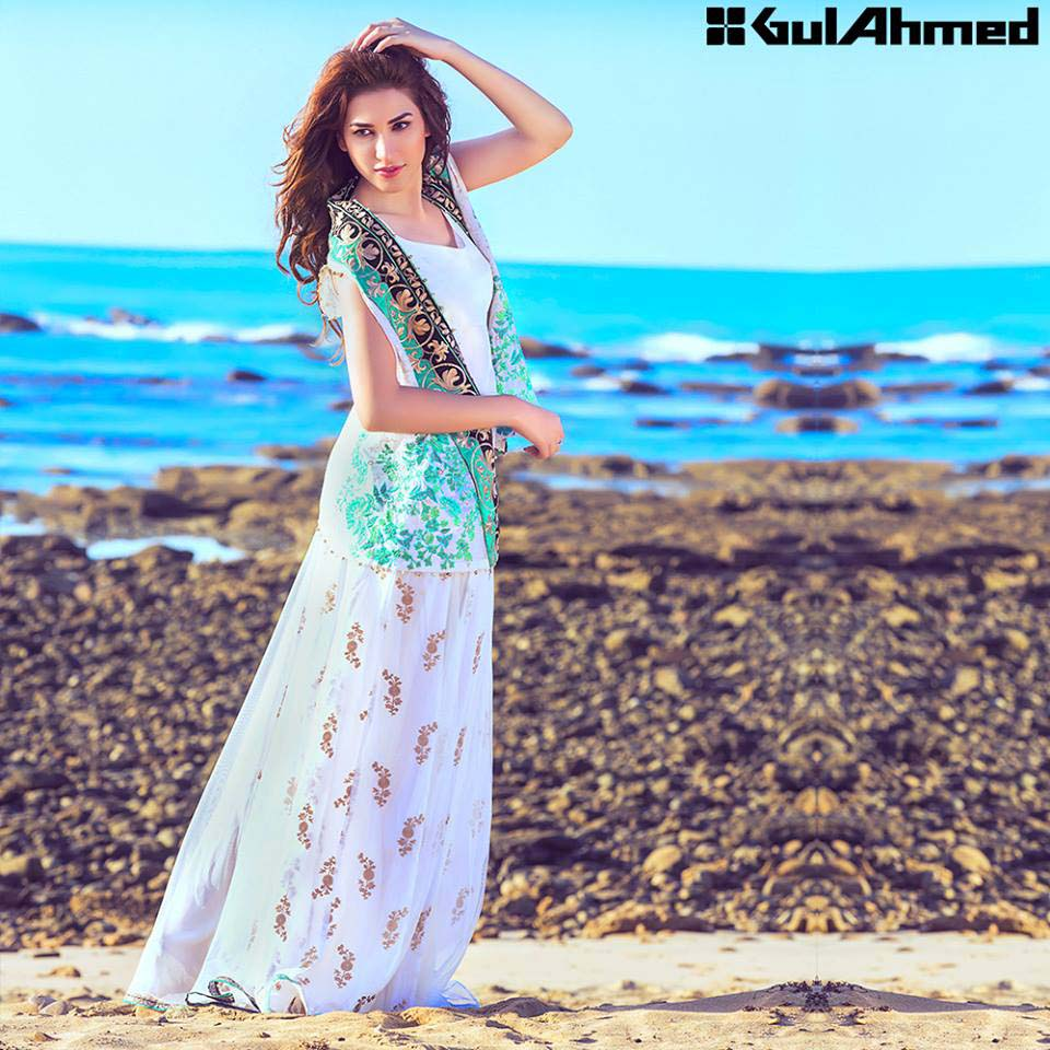 Gul Ahmed Festive Eid 2016 Embroidered Singles Collection (13)
