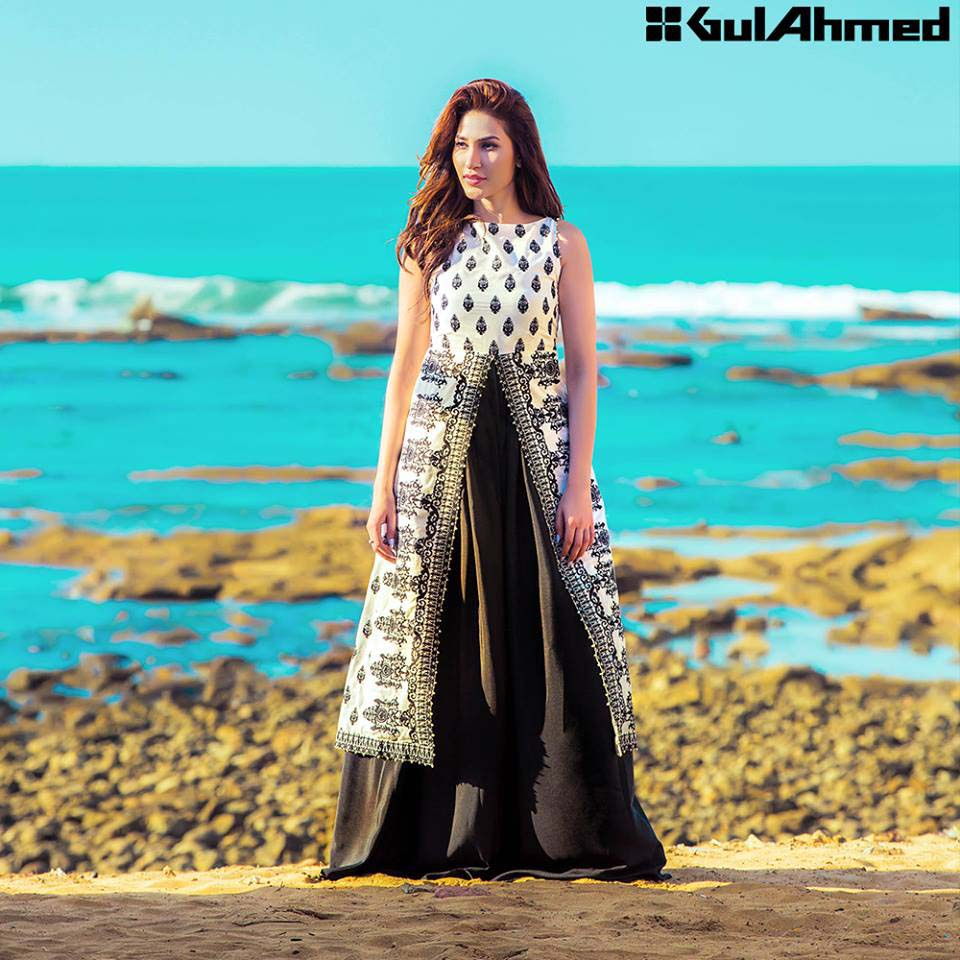 Gul Ahmed Festive Eid 2016 Embroidered Singles Collection (15)