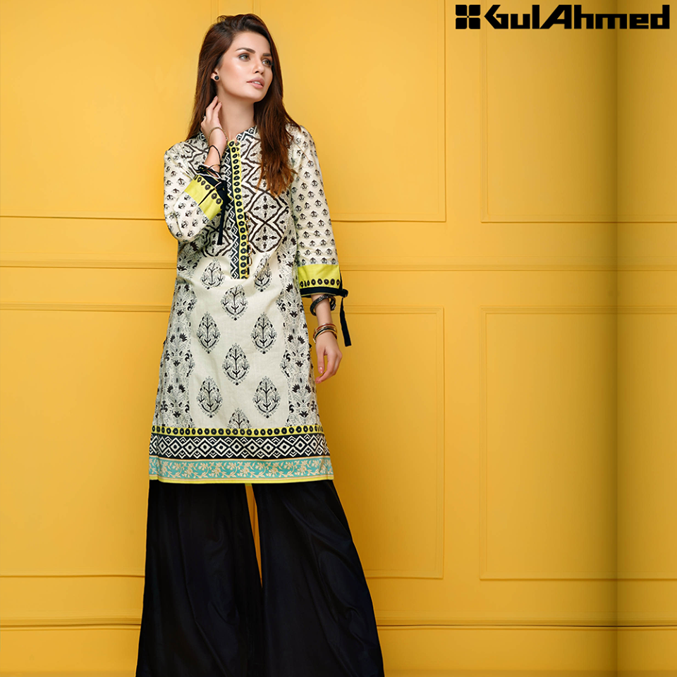 Gul Ahmed Festive Eid 2016 Single Shirts Collection (1)