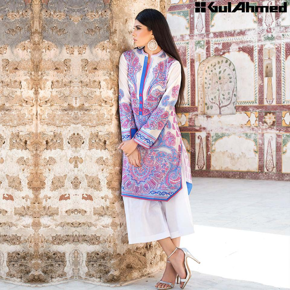 Gul Ahmed Festive Eid 2016 Single Shirts Collection (10)