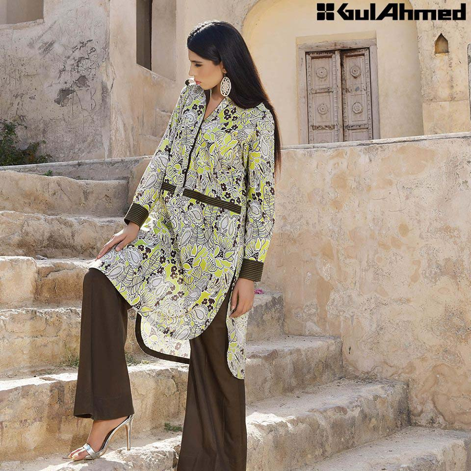 Gul Ahmed Festive Eid 2016 Single Shirts Collection (13)