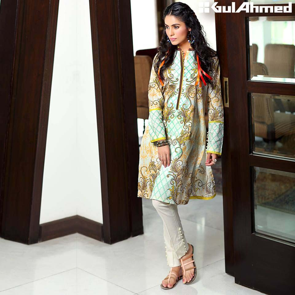 Gul Ahmed Festive Eid 2016 Single Shirts Collection (17)