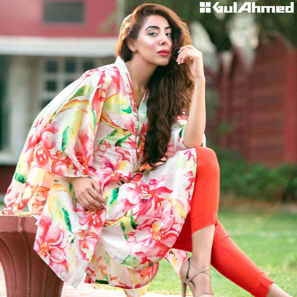 Gul Ahmed Festive Eid 2016 Single Shirts Collection (2)