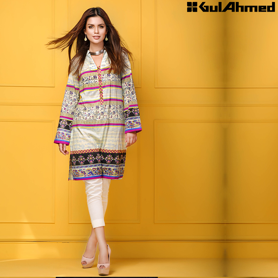 Gul Ahmed Festive Eid 2016 Single Shirts Collection (7)