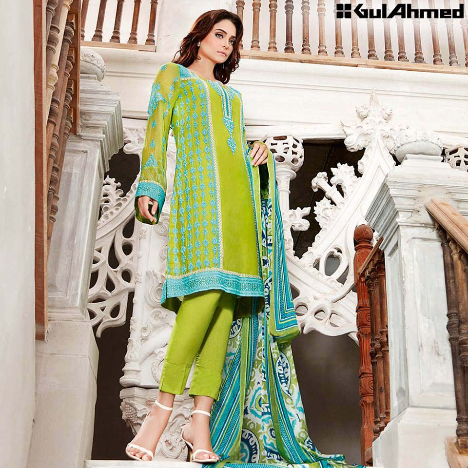 Gul Ahmed Festive Eid 2016 Trencia Satin Silk Collection (17)