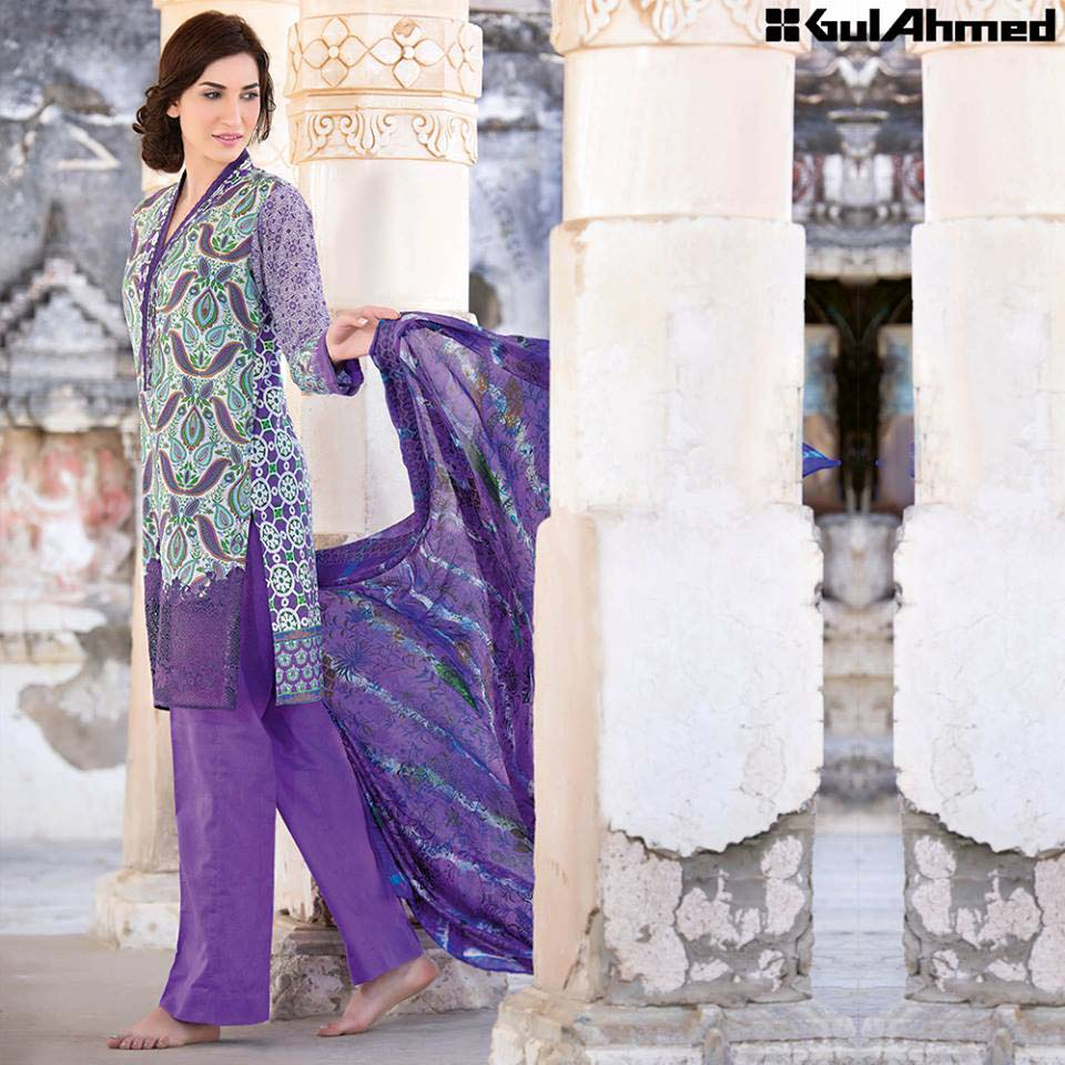 Gul Ahmed Festive Eid 2016 Trencia Satin Silk Collection (18)