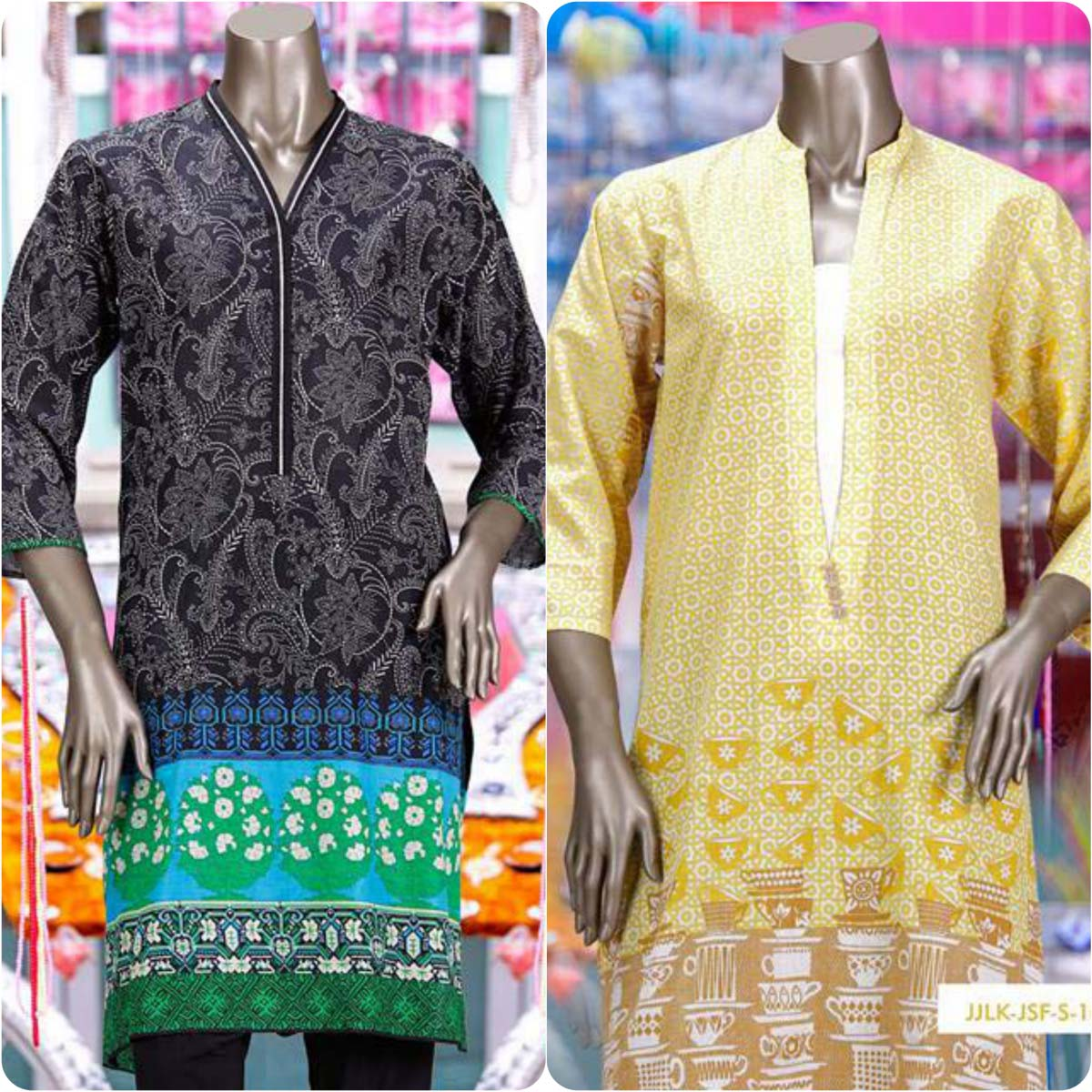 Junaid Jamshed Embrodiered Lawn Festive Eid Collection 2016-2017 (17)