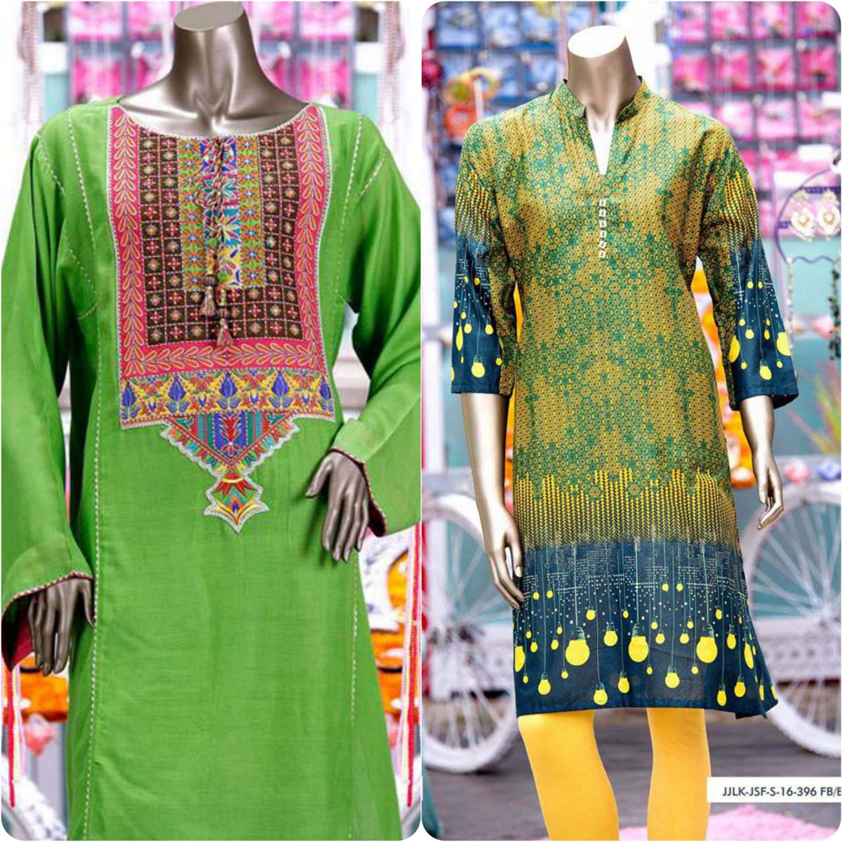 Junaid Jamshed Embrodiered Lawn Festive Eid Collection 2016-2017 (18)